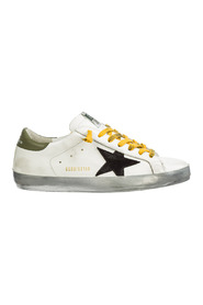 Leather trainers superstar