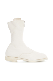LINED FRONT ZIP ANKLE BOOT
