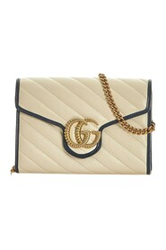 GG Marmont Wallet on Chain Leather Calf