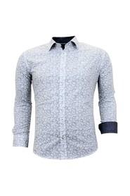 Exclusieve Italiaanse Overhemd -  Slim Fit - 3048