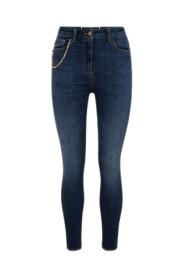 Jeans Con Accessorio Pendente