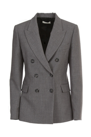 DOUBLE BREASTED JACKET RED BUTTONS