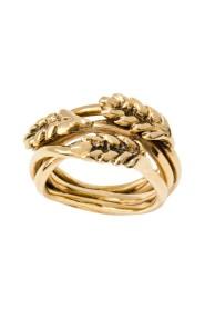 Multis Épis de Blé gold plated ring