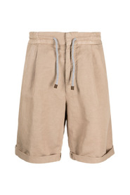 Elasticated waist bermuda shorts