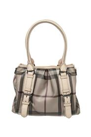 pre-owned Check Coated Canvas Small Northfield Tote