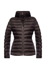 Amethyste hooded quilted jacket