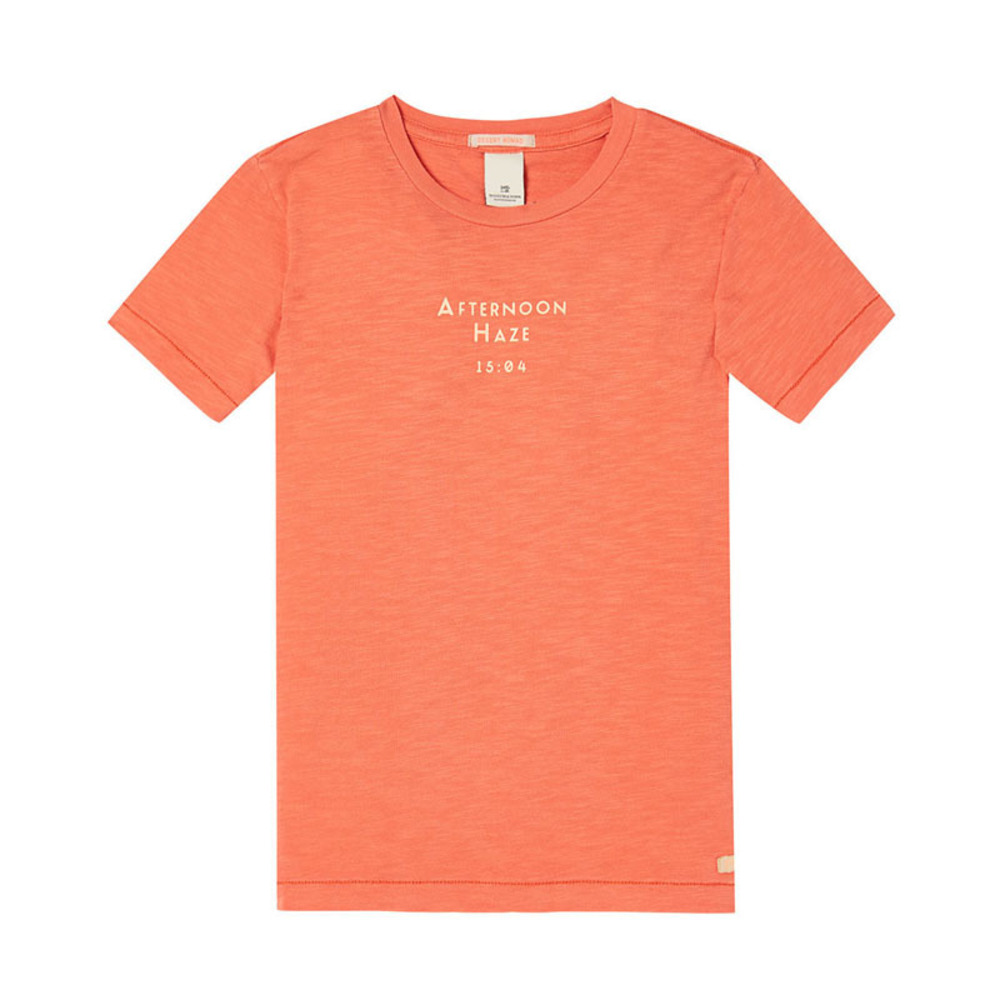 Scotch Shrunk T-shirt  orange