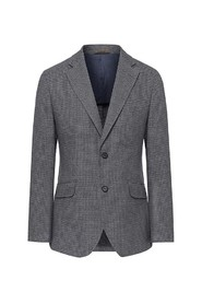 Brushed Houndstooth Blazer