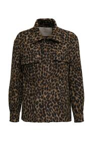 Animalier printed Shirt with Pockets