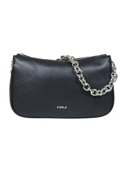 moon s shoulder bag in smooth leather