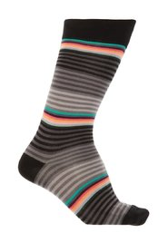 Patterned socks with logo