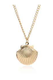 Frida Shell - gold necklace