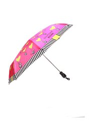 Patterned umbrella with logo