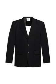 Blazer with cut-out back