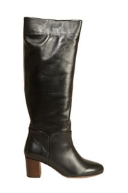 Malou Brittania leather high boots