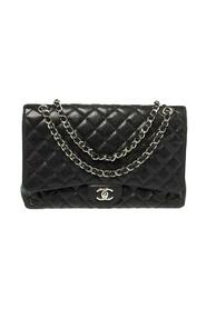 Brukt Quilted Caviar Leather Maxi Classic Single Flap Bag