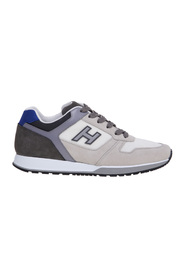 H321 sneaker in suede and fabric