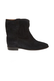 CRISI STITCHED ANKLE BOOTS