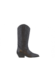 Nina oblique 7-a high leather western boots