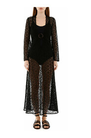 Jane long lace dress