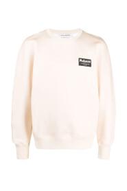 Logo-patch sweatshirt