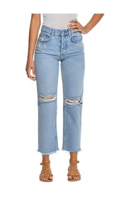 JEANS TOMMY HIGH RISE STRAIGHT GREAT DICTATOR