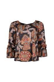 Patrice blouse azteken