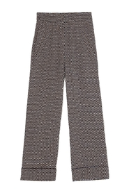 Trousers Printed Crepe