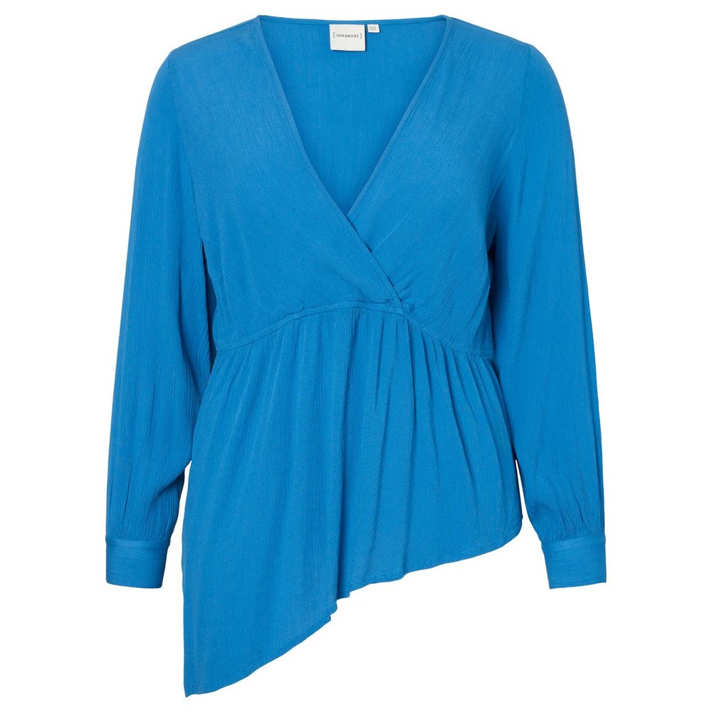 Blouse Geweven peplum