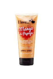 I Love Mango & Papaya Exfoliating Shower Smoothie
