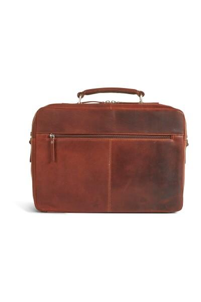 Brown Laptop Business Bag Damies Howard London Torby I Etui Na Laptopa