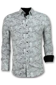 Overhemden Italiaans - Blouse Paisley Print - 3019