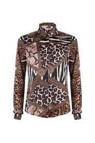 Blouse Multi Animal Print