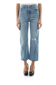 LEVIS 72693 0035 RIBCAGE STRAIGHT JEANS Women DENIM LIGHT BLUE