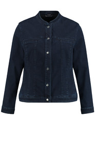 Samoon  Jacket 330006 / 21315 Raw Blue Denim - Size 44 / XXL