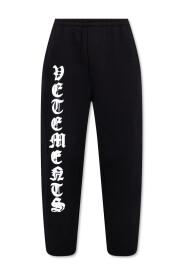 Logo-printed sweatpants