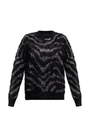 Tiger patterned sweater