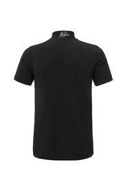 Turtleneck T-shirt Blk-Blk