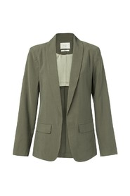 Blazer with belted detail