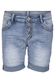 Jewelly jeansshorts blå