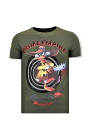 Stoere T-shirt - Crime Empire