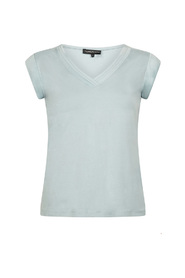 t-shirt satin sleeve