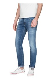TOMMY JEANS DM0DM07312 SLIM SCANTON JEANS Men DENIM LIGHT BLUE