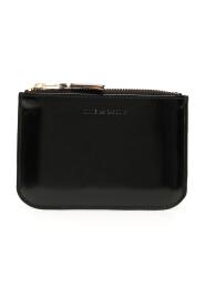 Wallet mirror inside pouch