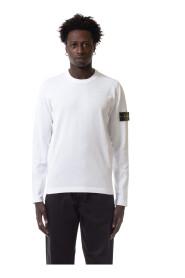 T-shirt met ronde hals en lange mouwen