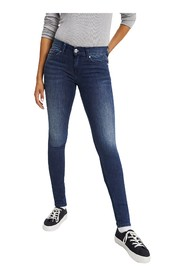 TOMMY JEANS DW0DW04414 NORA MID RISE JEANS Women DENIM MEDIUM BLUE