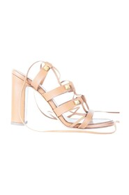 Lace Up Gladiator Block Heel -Pre Owned Condition Very Good