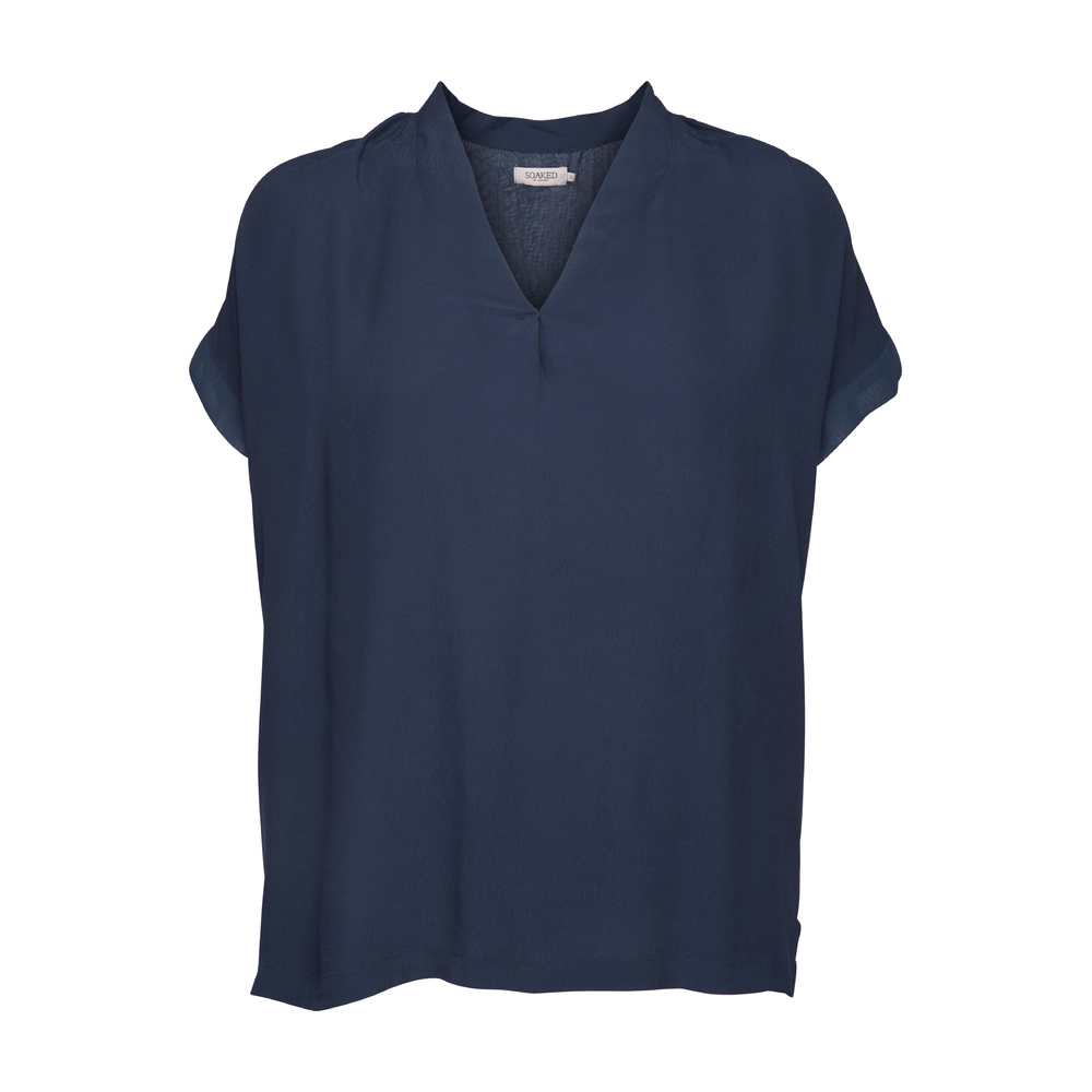 Soaked in Luxury Vilna Top Insignia blue