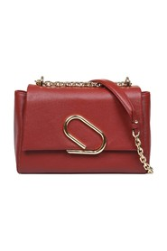 alix soft chain bag in leather