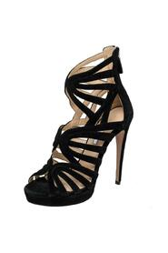 Pre-owned Cutout Gladiator Sandals